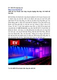 Thiết kế âm thanh ánh sáng chuyên nghiệp phù hợp với thiết kế nhà hát