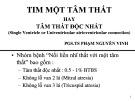 Tim một tâm thất hay tâm thất độc nhất - PSG.TS Phạm Nguyễn Vinh