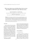 Thấy gì qua năng lực giao tiếp bằng tiếng Anh của sơn nữ Sapa: Nghiên cứu điển hình về giao tiếp liên văn hoá