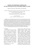 Major contemporary approaches to the analysis of the Vietnamese simple clause