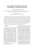 Oral corrective feedback in efl/esl classrooms: Classification models