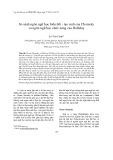 So sánh ngôn ngữ học biến đổi - tạo sinh của Chomsky và ngôn ngữ học chức năng của Halliday