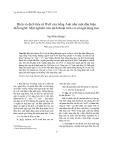 Hiểu và dịch tiểu từ Well của tiếng Anh như một dấu hiệu diễn ngôn: Một nghiên cứu dịch thuật trên cơ sở ngữ dụng học