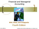 Lecture Financial and managerial accounting (4/e): Chapter 15 - Wild, Shaw, Chiappetta
