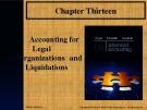 Lecture Advanced accounting (12/e): Chapter 13 - Joe B. Hoyle, Thomas F. Schaefer, Timothy S. Doupnik