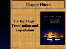 Lecture Advanced accounting (12/e): Chapter 15 - Joe B. Hoyle, Thomas F. Schaefer, Timothy S. Doupnik