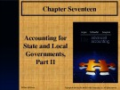 Lecture Advanced accounting (12/e): Chapter 17 - Joe B. Hoyle, Thomas F. Schaefer, Timothy S. Doupnik