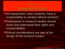 Lecture Communication research: Asking questions, finding answers (2/e): Chapter 5 - Joann Keyton