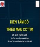 Điện tâm đồ thiếu máu cơ tim - BS. Đinh Huỳnh Linh