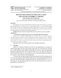 Phương pháp tính toán phổ năng lượng cho nguyên tố Rubidi và Stronti