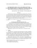 Xác định hàm lượng Cu, Pb, Cd, Mn trong nước thải và nước sinh hoạt tại khu vực Thạch Sơn - Lâm Thao - Phú Thọ bằng phương pháp quang phổ hấp thụ nguyên tử