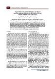 Nhận thức của sinh viên khoa sư phạm trường Đại học An Giang về quyền tác giả trong nghiên cứu khoa học