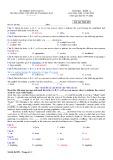 Đề thi học kì 2 môn Tiếng Anh 11 năm 2017-2018 có đáp án - Trường THPT chuyên Huỳnh Mẫn Đạt - Mã đề 853 (Khối chuyên)