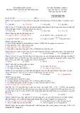 Đề thi học kì 2 môn Hóa học 11 năm 2017-2018 có đáp án - Trường THPT chuyên Huỳnh Mẫn Đạt - Mã đề 779