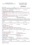 Đề thi học kì 2 môn Hóa học 11 năm 2017-2018 có đáp án - Trường THPT chuyên Huỳnh Mẫn Đạt - Mã đề 533