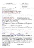 Đề thi học kì 2 môn Tiếng Anh 10 năm 2017-2018 có đáp án - Trường THPT chuyên Huỳnh Mẫn Đạt - Mã đề 803 (Khối cơ bản)