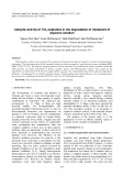 Catalytic activity TiO2/sepiolites in the degradation of rhodamine B aqueous solution