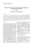 Nghiên cứu sự tạo phức của một số ion kim loại với glyxin bằng phương pháp phân tích nhiệt