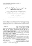 Study on the effect of carbon black, carbon nanotube on the properties of rubber blend acrylonitrile butadiene rubber (NBR)/polyvinyl chloride (PVC)