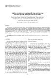 Nghiên cứu điện cực anôt trơ hỗn hợp oxit kim loại cho bảo vệ catôt chống ăn mòn vỏ tàu biển