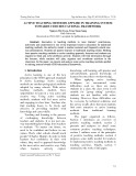 Active teaching methods applied in training system towards CDIO educational framework