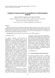 Oxidation of benzyl alcohol to benzaldehyde over MnOx/sepiolite catalysts