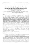 Đánh giá nội bộ hệ thống quản lý môi trường ISO 14001:2004 tại Công ty TNHH Takako Việt Nam
