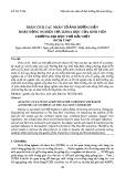 Phân tích các nhân tố ảnh hưởng đến hoạt động nghiên cứu khoa học của sinh viên Trường Đại học Thủ Dầu Một