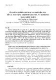 Ứng dụng phương pháp quang phổ đạo hàm để xác định đồng thời paracetamol và ibuprofen trong dược phẩm