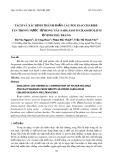 Tách và xác định thành phần các polysaccharide tan trong nước từ rong nâu Sargassum crassifolium ở vịnh Nha Trang