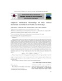 Empirical attenuation relationship for peak ground horizontal acceleration for north-east Himalaya