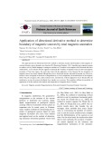 Application of directional derivative method to determine boundary of magnetic sources by total magnetic anomalies