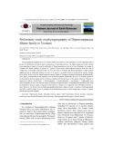 Preliminary study on phytogeography of Dipterocarpaceae Blume family in Vietnam