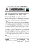 Assessment of earthquake-induced liquefaction hazard in urban areas of Hanoi city using LPI-based method