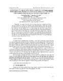 Ảnh hưởng của dịch nuôi chủng vi khuẩn lam Nostoc calcicola HN9 - 1a đến sinh trưởng và năng suất giống lúa Tám thơm thử nghiệm ở huyện Hưng Nguyên, tỉnh Nghệ An