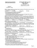 Đề thi thử THPT Quốc gia môn GDCD lớp 12 năm 2018-2019 lần 1 - THPT Nguyễn Viết Xuân - Mã đề 205
