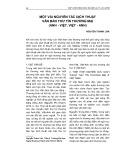 Một vài nguyên tắc dịch thuật văn bản thư tín thương mại (Anh - Việt, Việt - Anh)