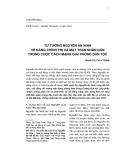 Tư tưởng Nguyễn An Ninh về đảng chính trị và mặt trận nhân dân trong cuộc cách mạng giải phóng dân tộc