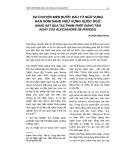 Sự chuyển biến bước đầu từ ngữ vựng Hán Nôm sang ngữ vựng quốc ngữ (Khảo sát qua tác phẩm phép giảng tám ngày của Alecxandre De Rhodes)