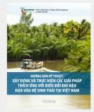 Hướng dẫn kỹ thuật: Xây dựng và thực hiện các giải pháp thích ứng với biến đổi khí hậu dựa vào hệ sinh thái tại Việt Nam