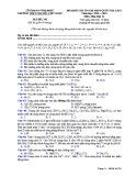Đề KS ôn thi THPT Quốc gia môn Hóa học lớp 11 năm 2018-2019 lần 1 - THPT Nguyễn Viết Xuân - Mã đề 305