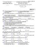 Đề thi KSCL môn Vật lí lớp 11 năm 2018-2019 lần 1 - THPT Yên Lạc 2 - Mã đề 132