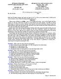 Đề KSCL môn tiếng Anh lớp 10 năm 2018-2019 lần 1 - THPT Nguyễn Viết Xuân - Mã đề 204