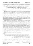 Nghiên cứu thành phần hóa học hướng tác dụng ức chế α-glucosidase của lá sa kê artocarpus altilis (parkinson) fosberg, moraceae