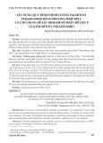 Xây dựng quy trình định lượng palmitoyl pyrazinamid bằng phương pháp HPLC và ứng dụng để xác định hệ số phân bố Log P của palmitoyl pyrazinamid