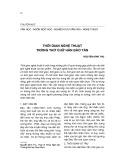 Thời gian nghệ thuật trong thơ chữ Hán Đào Tấn