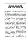 Tìm hiểu quá trình hình thành những cộng đồng ngư nghiệp ở vùng ven biển tỉnh Bình Thuận