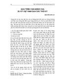 Quá trình vận động của du ký Việt Nam qua các thời kỳ