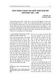 Hoạt động thanh tra dưới triều Nguyễn giai đoạn 1802 - 1885