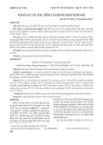 Khảo sát các đặc điểm của bệnh nhân peyronie